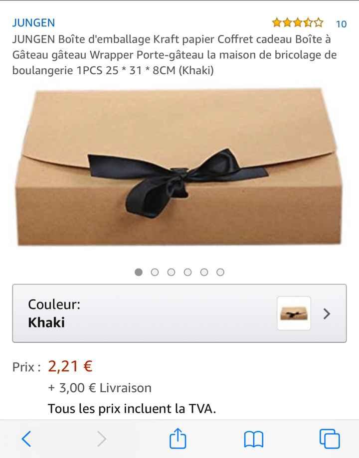 Boîte box témoin - 1