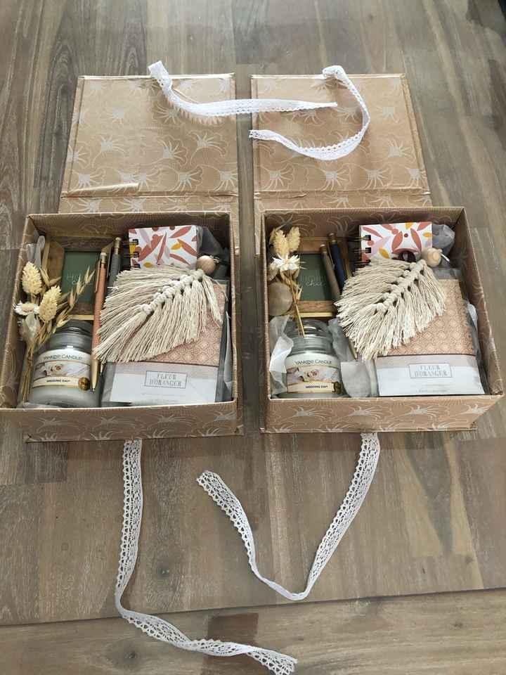 Box cadeaux témoins ❤️ - 1