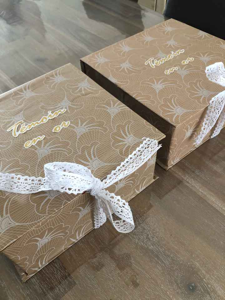 Box cadeaux témoins ❤️ - 3