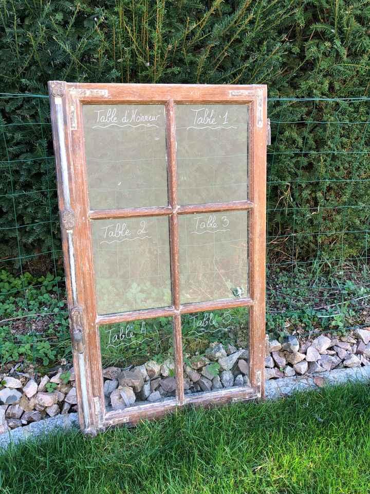 Décoration vieille fenêtre - 1