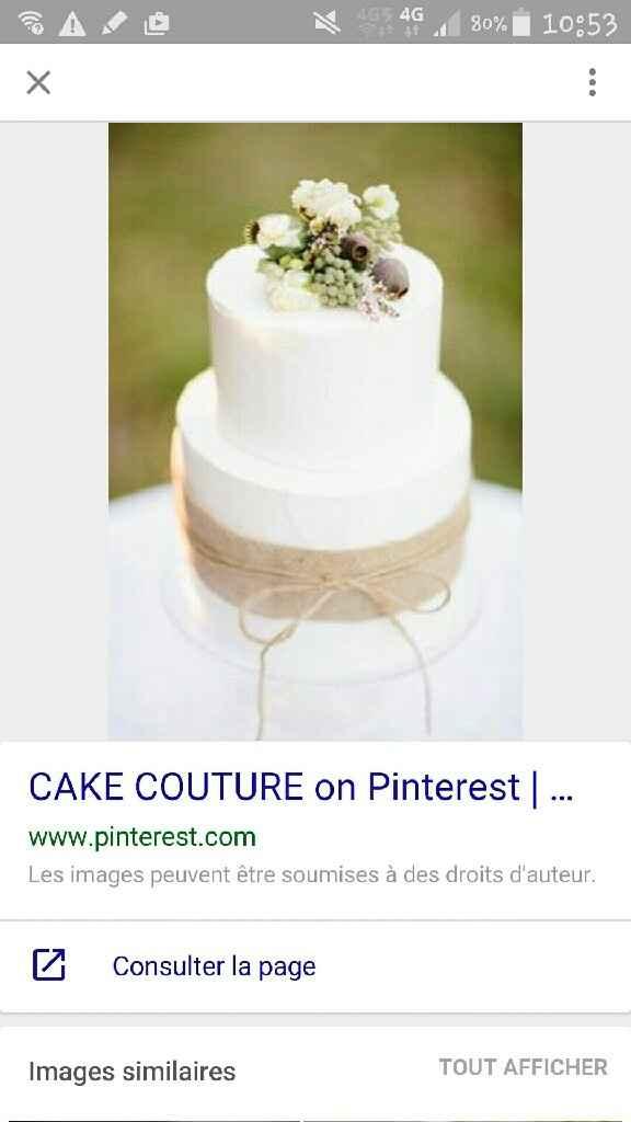 Quelle (s) saveur(s) pour votre wedding cake - 1