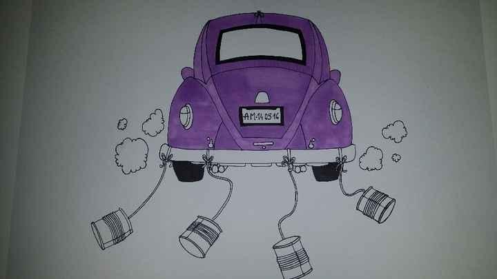 """""""voiture"""" à empreintes - 1"""