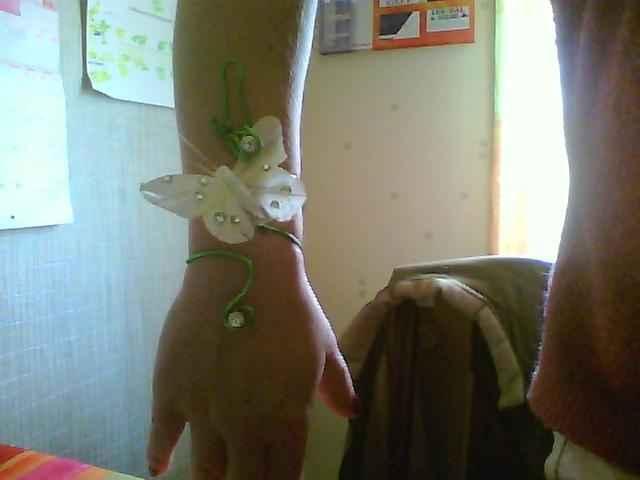 bracelet fait maison
