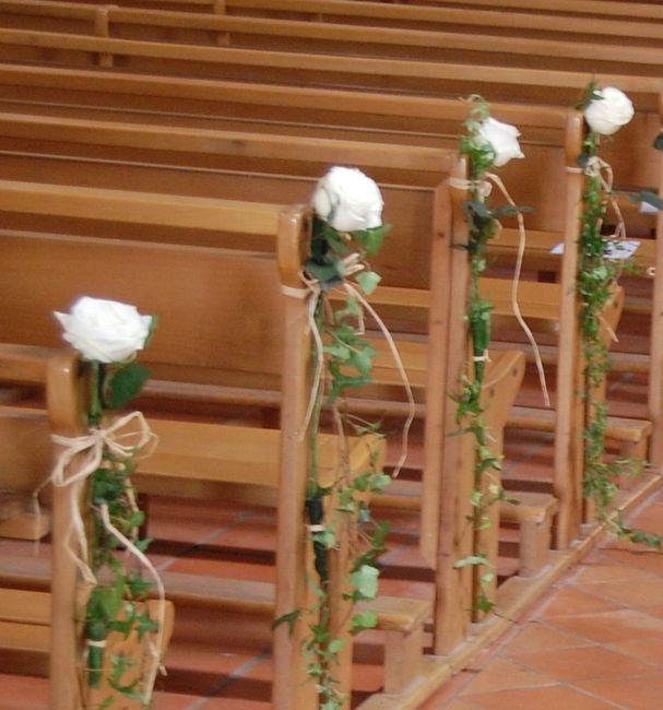 ment sera décorée votre église Cérémonie de mariage