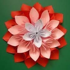 premier diy fini et j 39 en suis tr s fi re bouquet de fleurs en origami page 3 d coration. Black Bedroom Furniture Sets. Home Design Ideas