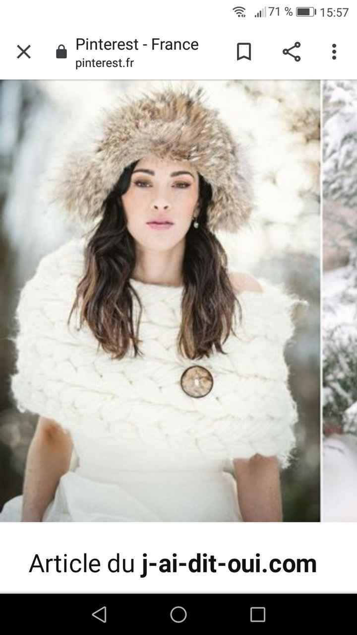 Accessoire mariage d'hiver 1