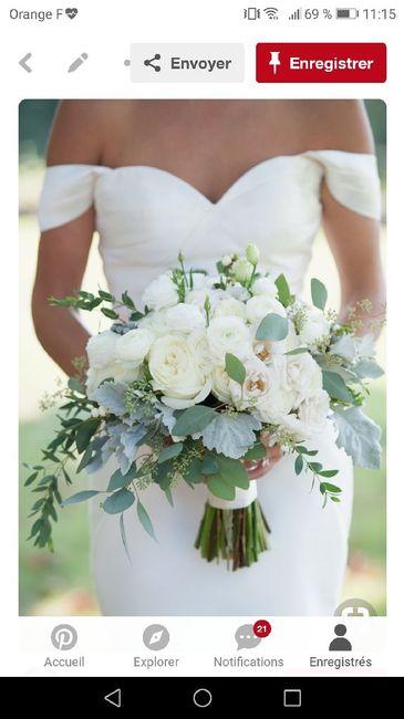 Photos bouquets de mariée et tarif 24