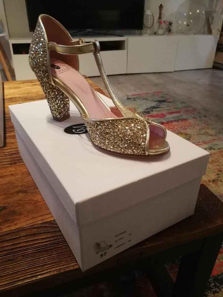 Mes chaussures pour le jour J.... - 1