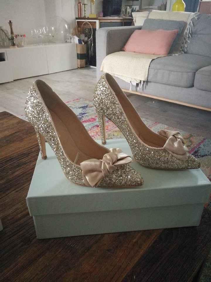Mes chaussures pour le jour J.... - 2