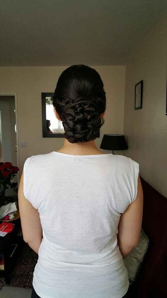 Mon essai coiffure et make up... - 2