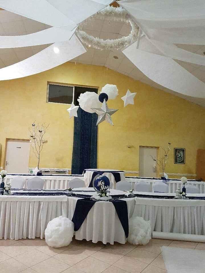 J-2 salle décorée thème nuit étoilée - 1