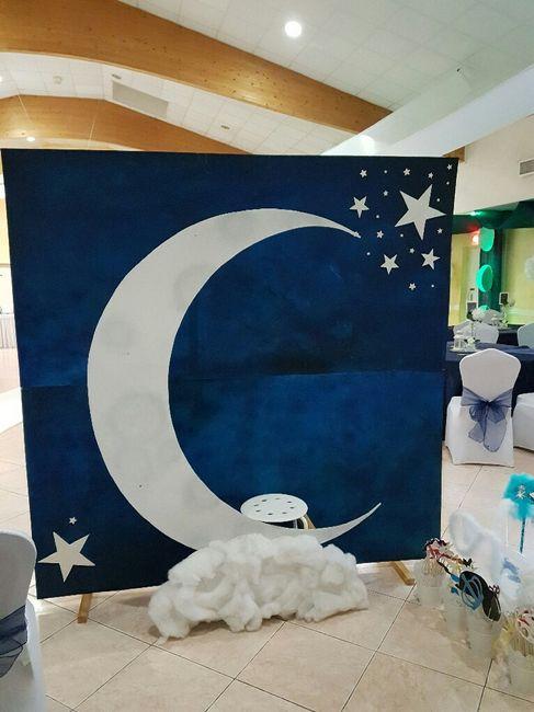 J-2 salle décorée thème nuit étoilée - 7