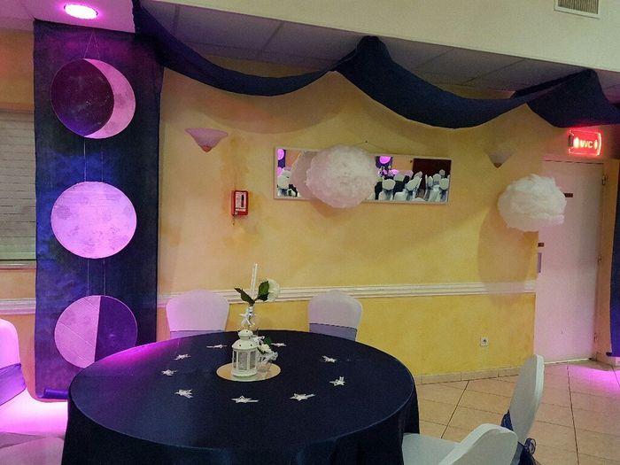 J-2 salle décorée thème nuit étoilée - 12