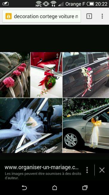 deco voiture du cort ge vos avis 6 photo avant le mariage. Black Bedroom Furniture Sets. Home Design Ideas