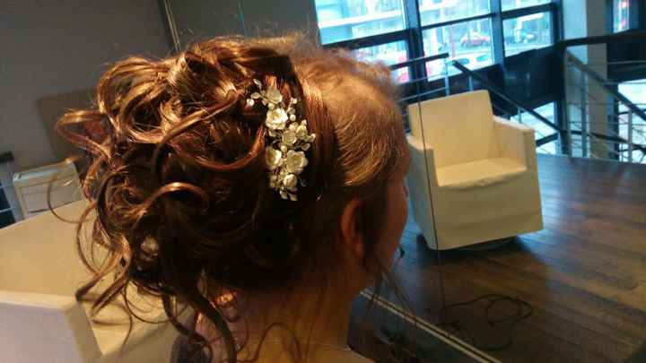 Mon essai coiffure + maquillage + robe ! ❤ - 2