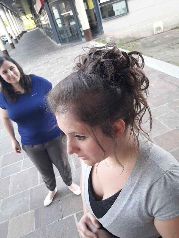 Le dernier essai coiffure avant le jour j ! - 1