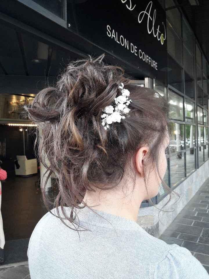 Le dernier essai coiffure avant le jour j ! - 2