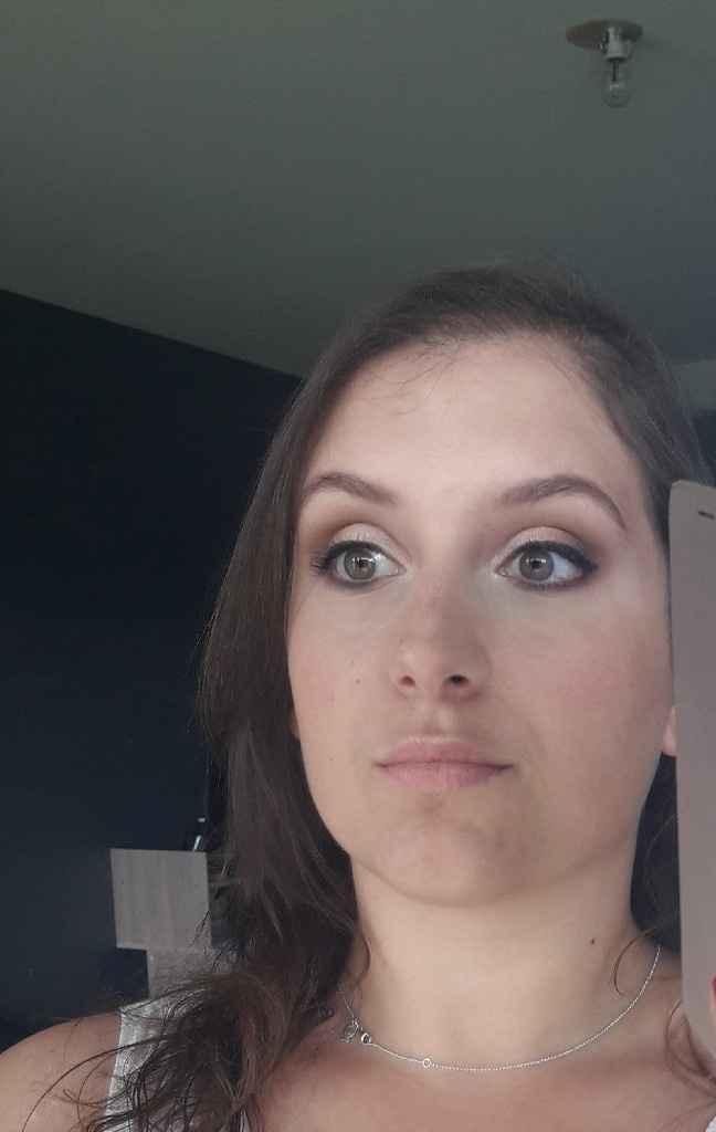Mon dernier essai maquillage ! - 1