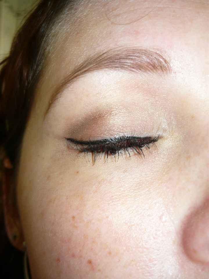 essai maquillage yeux