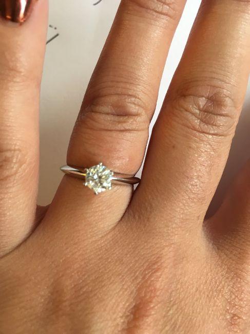 Montrez-nous vos bagues de fiançailles 💍 9