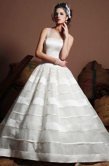 robe de mari e motif 2 5 les rayures mode nuptiale