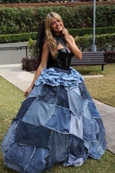 denim and lace wedding dress robe de mari 233 e en jean fan ou pas fan page 3 mode 3477