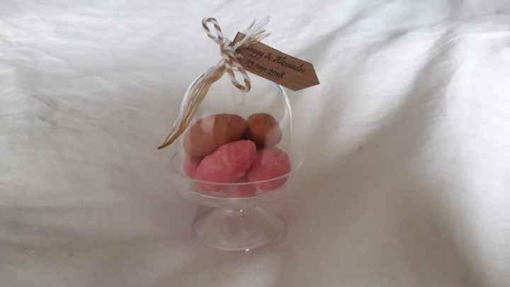 Que pensez-vous de notre choix de cadeau aux invités?