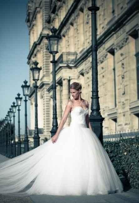 Robe de mariée du 30 janvier