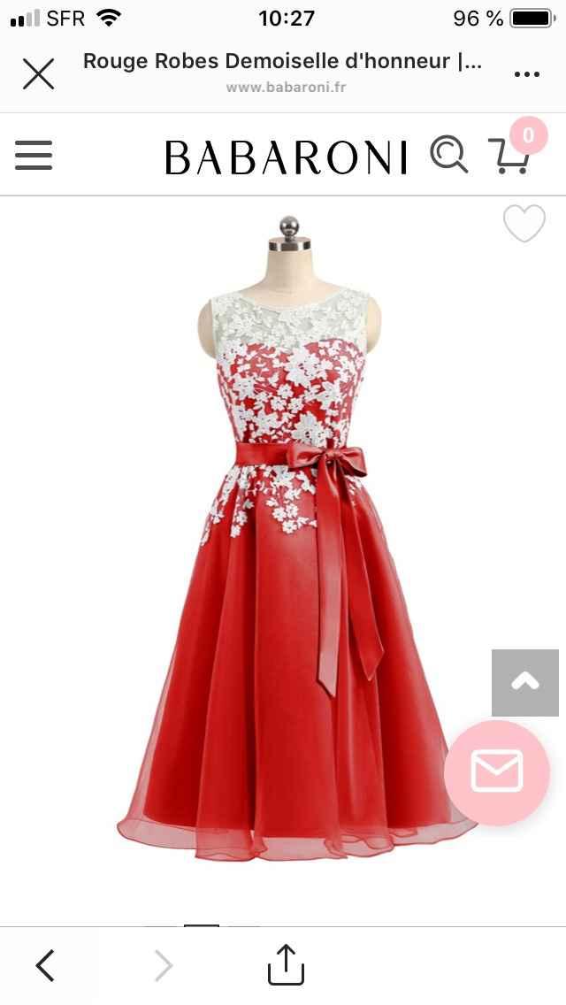 Bonjour les Fm!!! J'ai trouvé mes robes de demoiselles d'honneur - 3