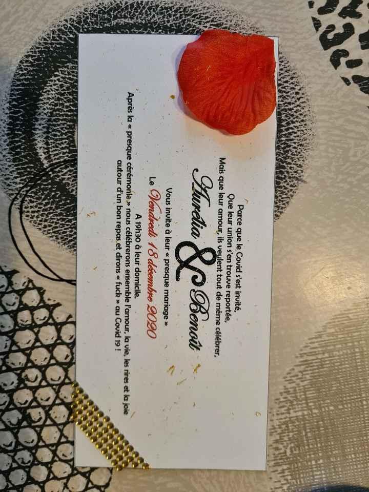 Mes invitations - 1