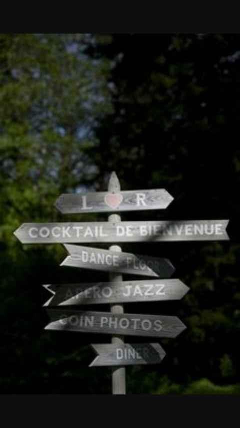 Panneaux directions - 1