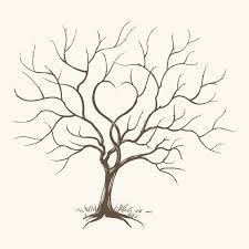 Live Life With No Regrets Tattoo Sketches Drawing Art: Pour Faire Un Arbre à Empreintes, Il Vous Faut