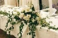 Id e pour la d coration du buffet froid de l 39 entr e th me for Centre table bois flotte fleurs