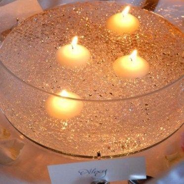 Th mes toile et constellation d coration forum - Centre de table bougie ...