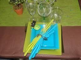 Couleur de mariage vert anis et bleu turquoise - Bleu turquoise et vert anis ...