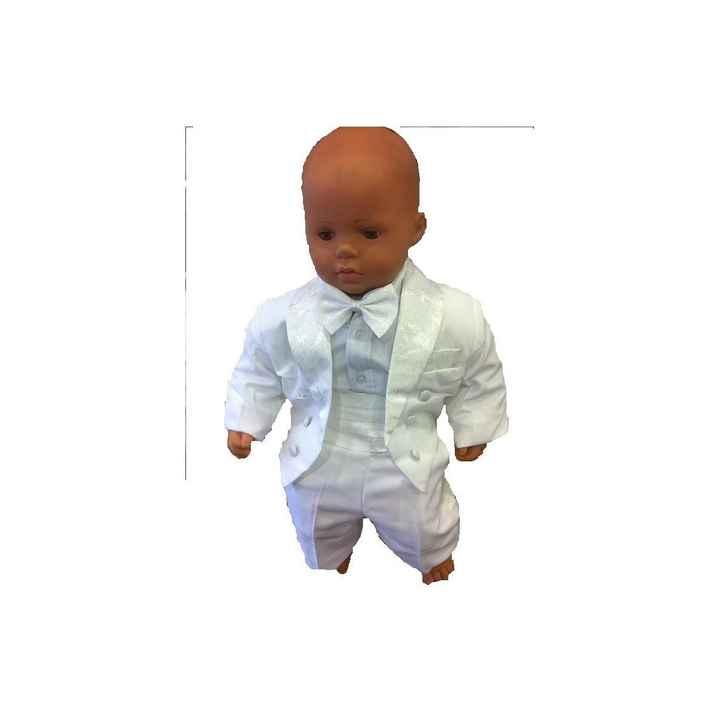 costume baptême de mon bébé