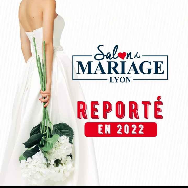 Salon du mariage de Lyon reporté en 2022! - 1
