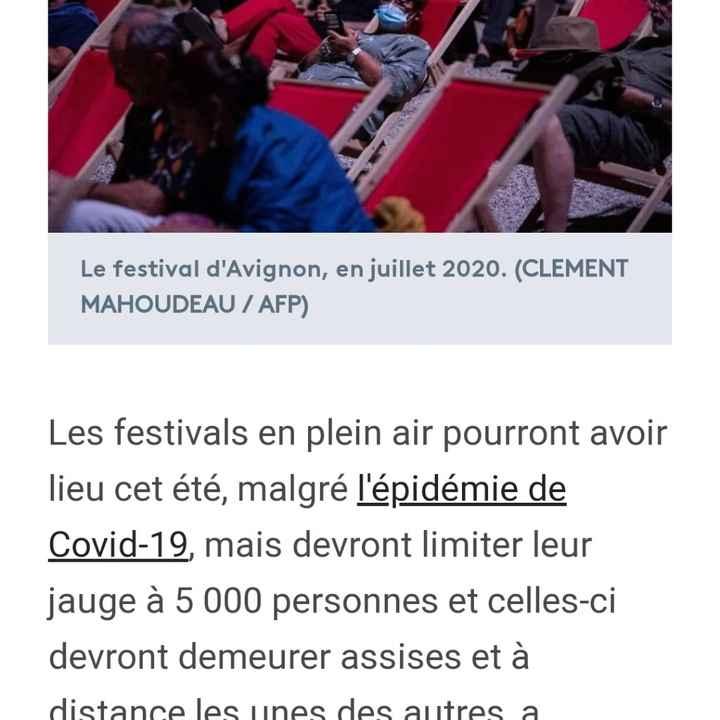 Bonne nouvelle les festivals seront autorisés cet été ! - 2