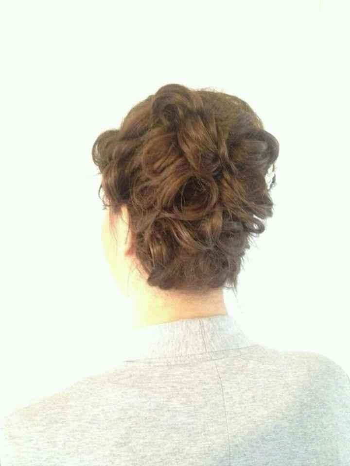 Mon premier essai coiffure et maquillage - 2