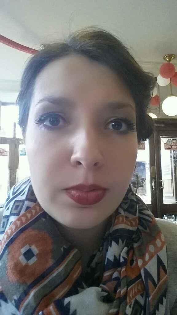 Mon premier essai coiffure et maquillage - 4