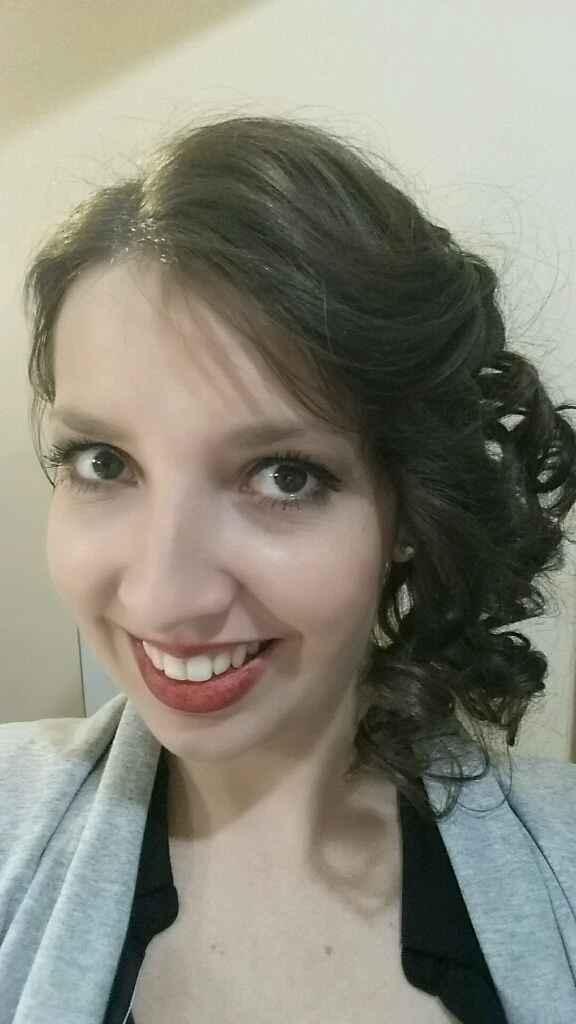 Mon premier essai coiffure et maquillage - 5