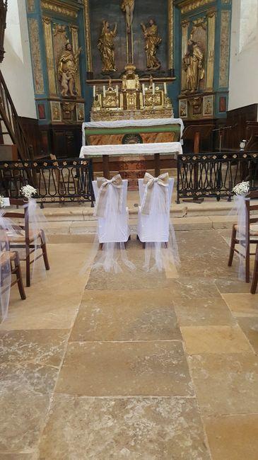 Noeuds chaises église