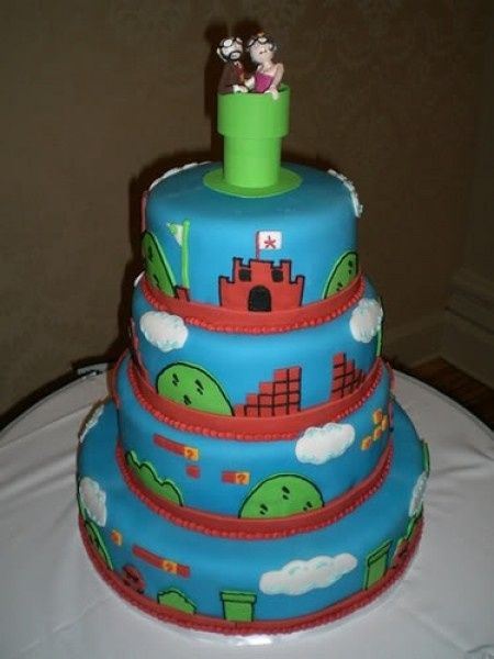 Wedding cake mario 2
