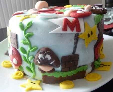 Wedding cake mario