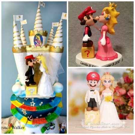 Wedding cake mario 3