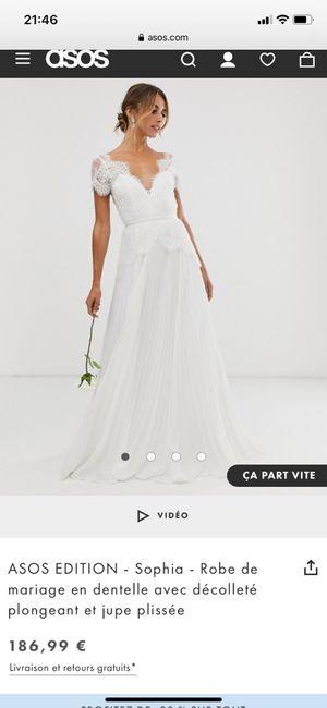 Votre futur(e) verra-t-il/elle votre robe avant le jour J ? 3