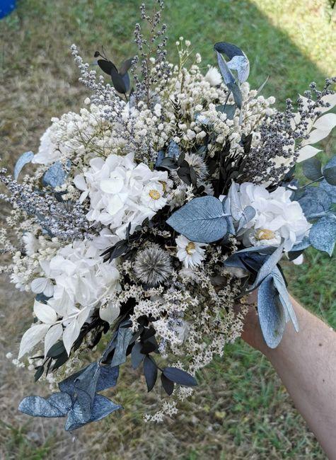 Bouquet de Mariee fleurs sechees? 6