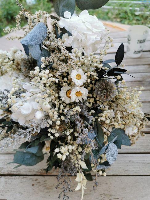 Bouquet de Mariee fleurs sechees? 7