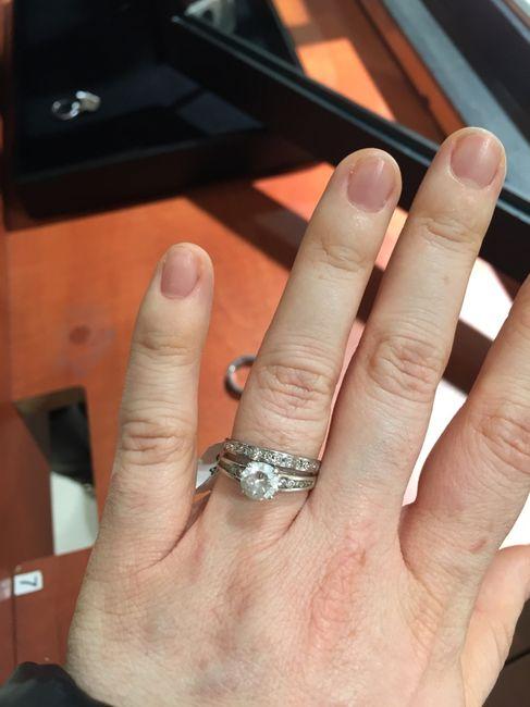 Vos photos de bagues de fiançailles et/ou alliances - 1