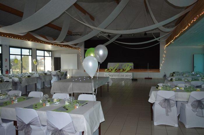 Decoration Salle De Mariage Blanc Et Dore : Decoration salle mariage blanc et argent